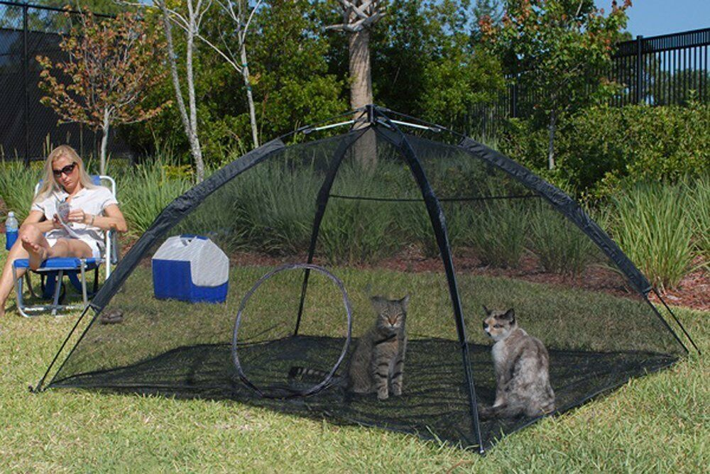 Abo Gear Happy Habitat Cat Patio Outdoor Enclosure Cage Ebay