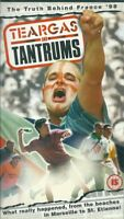 TEARGAS AND TANTRUMS - THE TRUTH BEHIND FRANCE 98 - VHS VIDEO