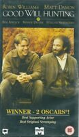 GOOD WILL HUNTING - ROBIN WILLIAMS - VHS VIDEO