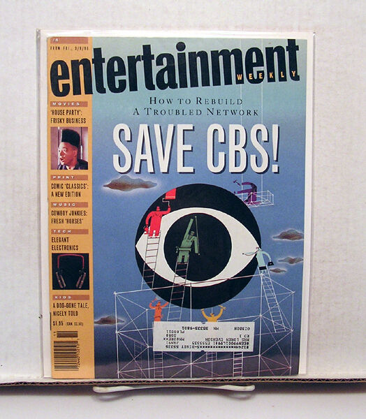 1990 entertainment weekly magazine 4 save cbs comic for Classic house 1990