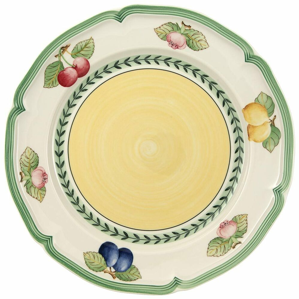 villeroy boch french garden fleurence salad plate ebay. Black Bedroom Furniture Sets. Home Design Ideas