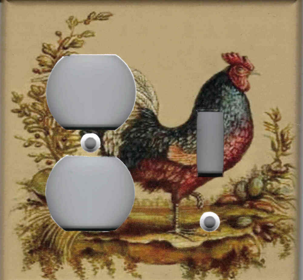 rooster no 2 rooster kitchen home decor double combo rs