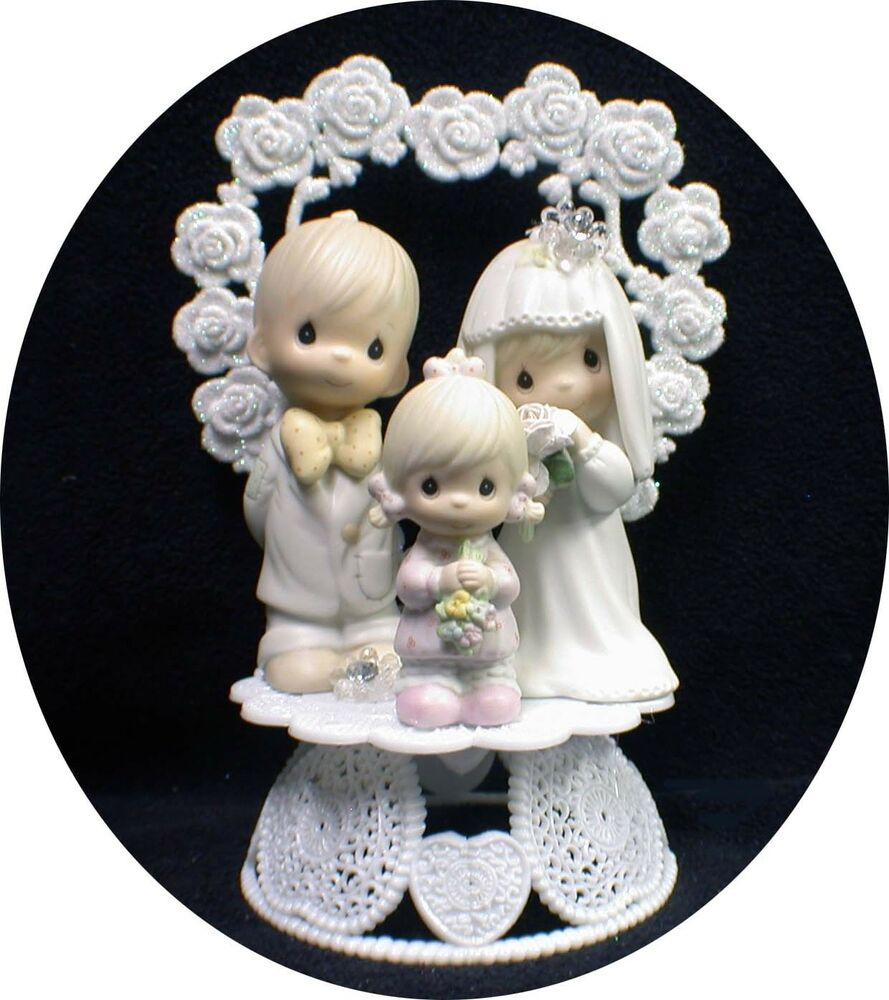 Wedding Cake Topper Precious Figures Bride Groom Moments Family ...
