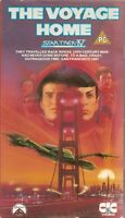 STAR TREK IV - THE VOYAGE HOME  -  VHS VIDEO