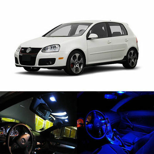 Gti Mk5 Interior Accessories: 5 X LED Full Interior Lights Package Deal For 2006-2008