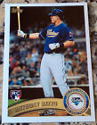 ANTHONY RIZZO 2011 Topps Rookie Card RC Chicago Cubs Debut 6/26 23 HRs .342 Avg