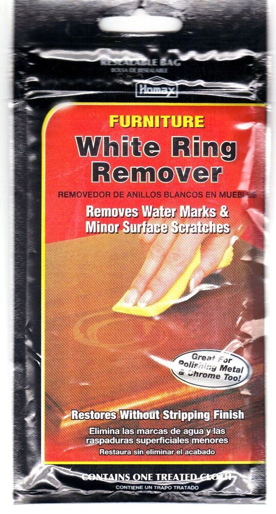 Furniture White Ring Remover~removes Marks From Wood