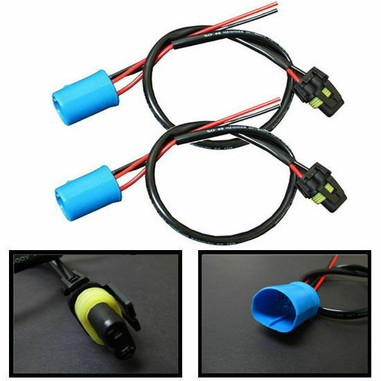 9004 9007 wire harness for hid ballast to stock socket for hid conversion kit ebay
