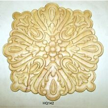 WOOD EMBOSSED APPLIQUE CARVING  9 1/2