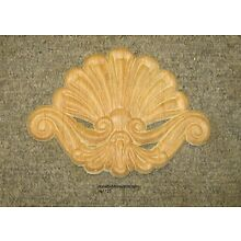 WOOD EMBOSSED APPLIQUE CARVING  6 1/2