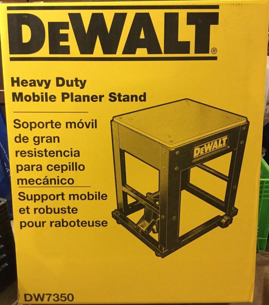 dewalt planer stand. new dewalt dw7350 planer stand with integrated mobile base fast ship! | ebay dewalt
