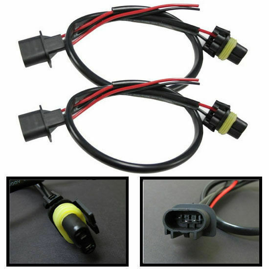 H13 9008 Wire Harness For Hid Ballast To Stock Socket For