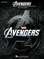 THE AVENGERS (MUSIC FROM THE MOVIE SOUNDTRACK) - SOLO PIANO SONGBOOK