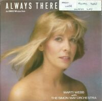"MARTI WEBB - ALWAYS THERE - 7"" VINYL PICTURE SLEEVE 1986 BBC"