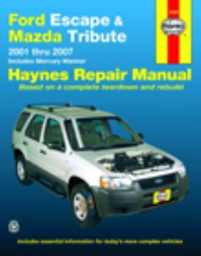 2001 2007 haynes ford escape   mazda tribute repair manual 2015 Mazda CX-5 Mazda Logo
