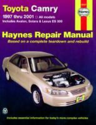 1997 2001 haynes toyota camry repair manual 1563924048 ebay. Black Bedroom Furniture Sets. Home Design Ideas