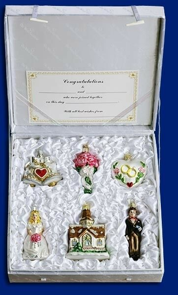 Wedding collection of old world christmas glass ornaments 14011 ebay