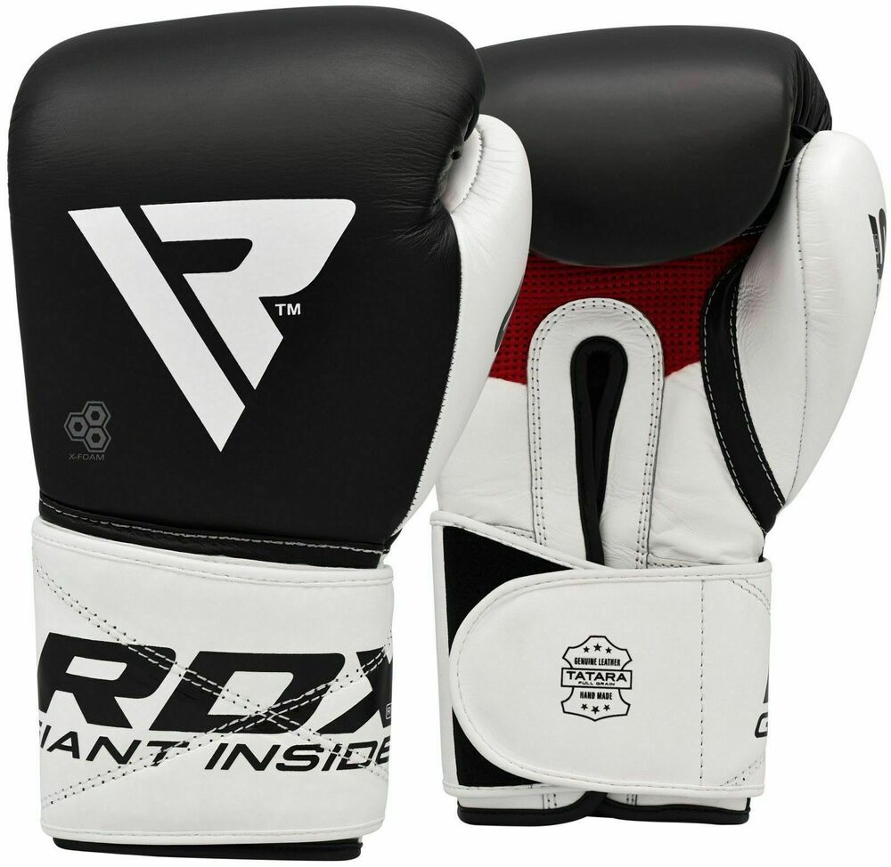 RDX Ultimate Leather Boxing Gloves Fight,Punch Bag MMA ...