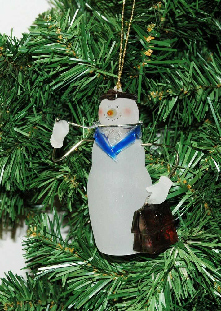 Doctor, Physician, Dr. Snowman Christmas Ornament | eBay