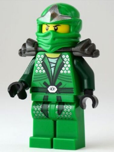 LEGO NINJAGO - LLOYD ZX - THE GREEN NINJA - NINJAGO MINI ...