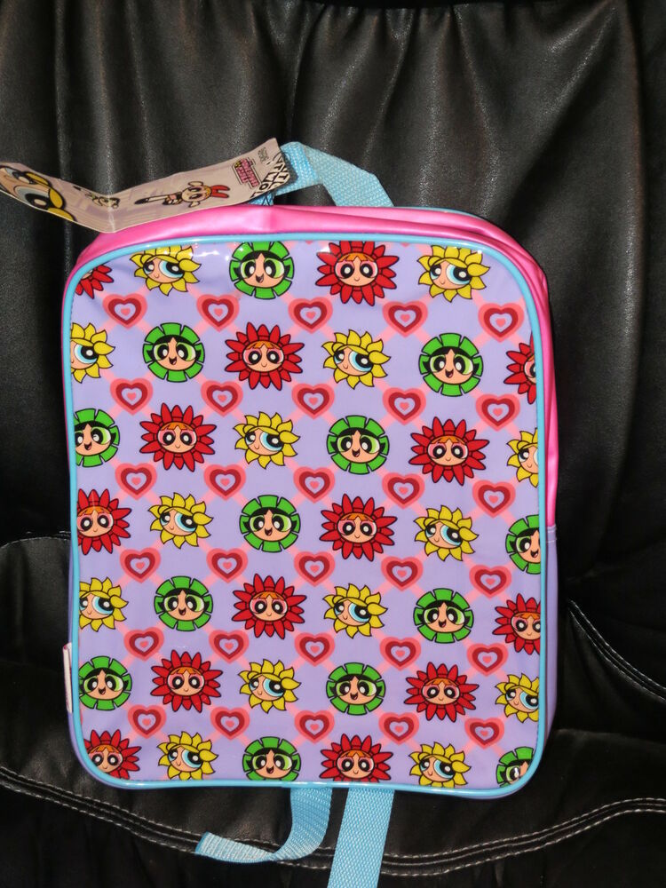 new powerpuff girls backpack can be used as diaper bag 10 x 12 ebay. Black Bedroom Furniture Sets. Home Design Ideas