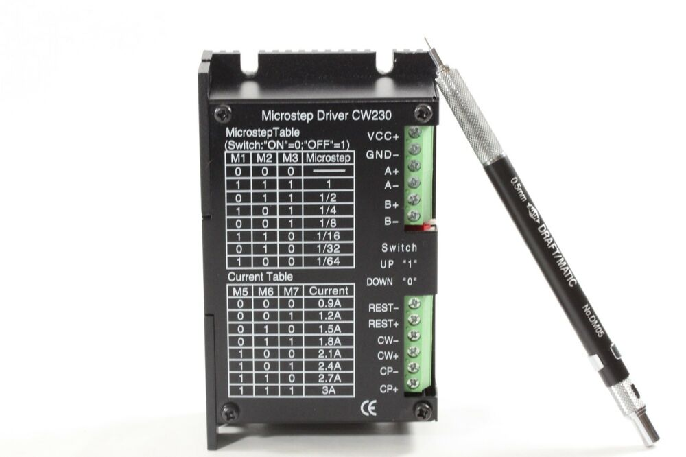 Stepping motor driver also called stepper driver 24 40 for 6 amp stepper motor driver