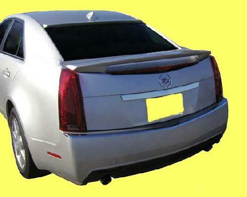 2008 2012 Cadillac Cts Painted Rear Spoiler Wing Factory