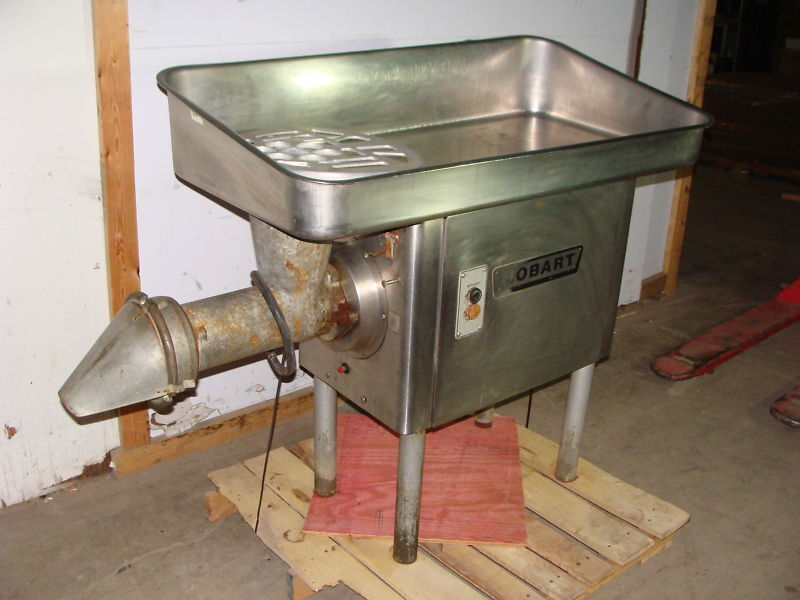 hobart heavy duty 7 5 hp commercial meat grinder with meat