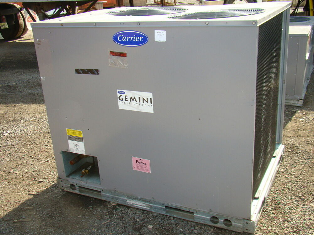 Carrier R 410a Puron Air Conditioning Unit Ebay