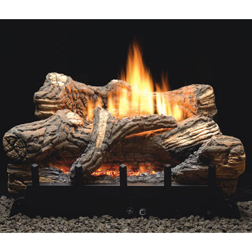 flint hill 18 24 30 vent free fireplace gas logs