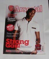 ARSENAL - THE OFFICIAL MAGAZINE SEPTEMBER 2009 - STRONG GAEL