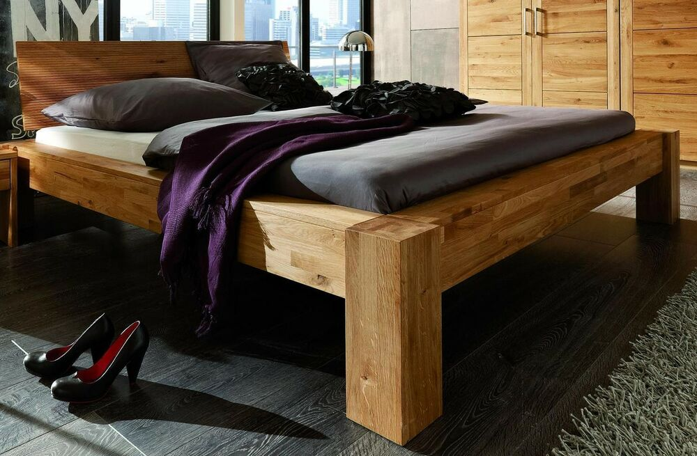 bett rahmen doppelbett futonbett kernbuche 180x200 buche. Black Bedroom Furniture Sets. Home Design Ideas