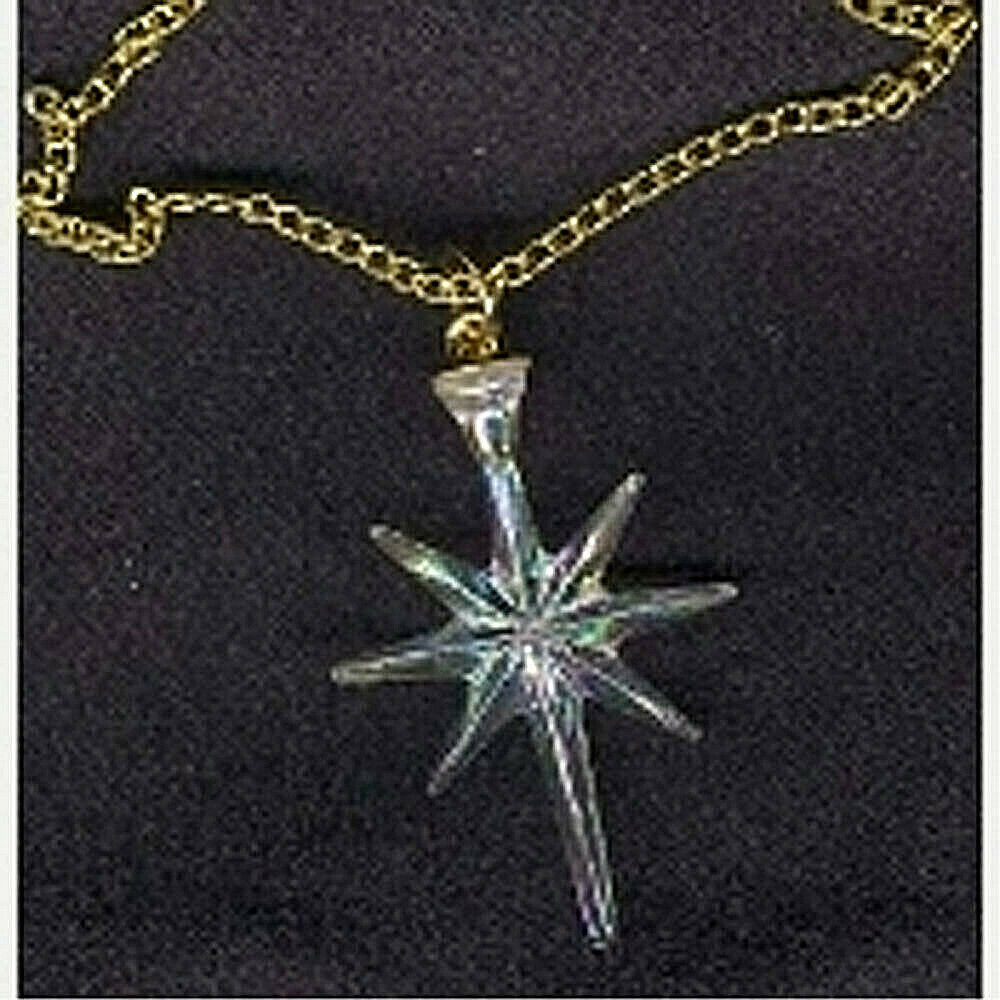 celestial gift astral north star pendant necklace holiday On star costume jewelry company