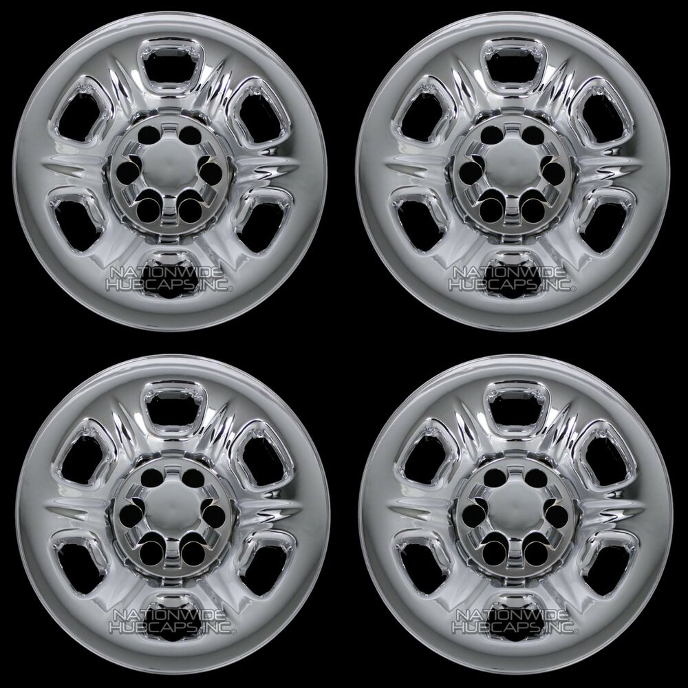 "2005 Nissan Frontier Wheels: 4 CHROME 2005-2016 Nissan Frontier 15"" Wheel Skins Hub"