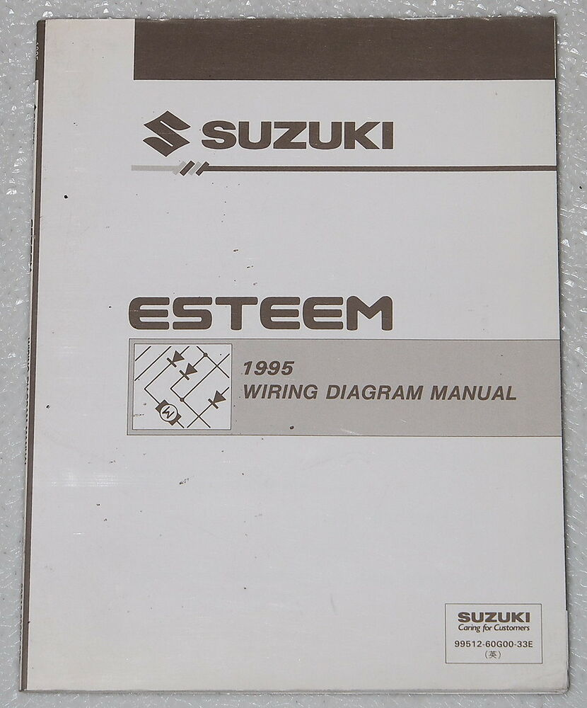 1995 suzuki esteem electrical wiring diagrams factory shop. Black Bedroom Furniture Sets. Home Design Ideas