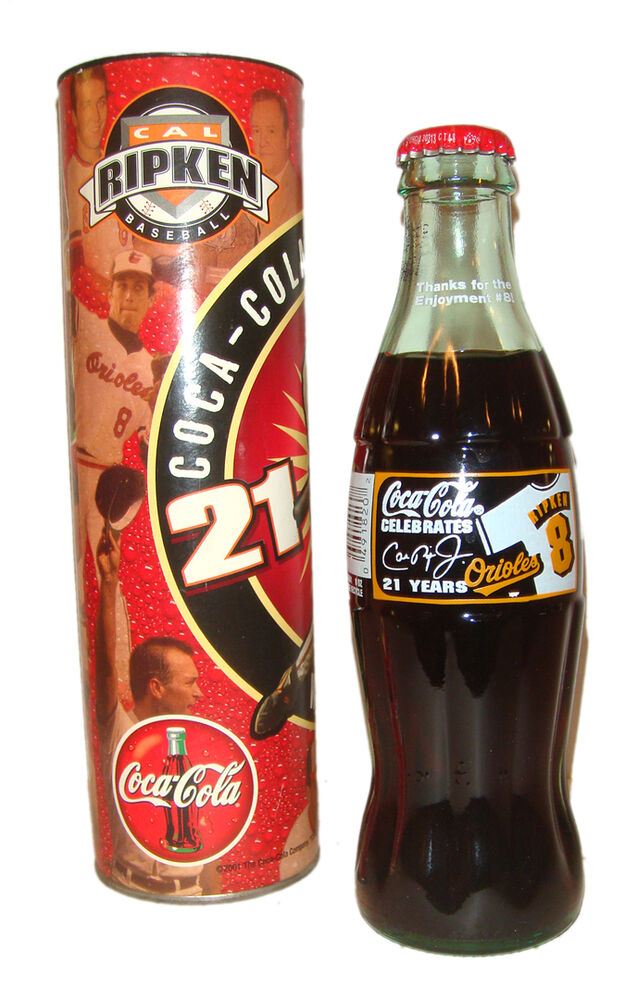 Coca cola collectible celebrates 21 years ripken 8 limited edition w box ebay - Coca cola edition limitee ...