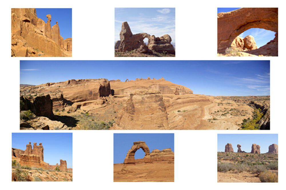 Arches National Park Photo Quilt Square Kit Small 8 Quot X
