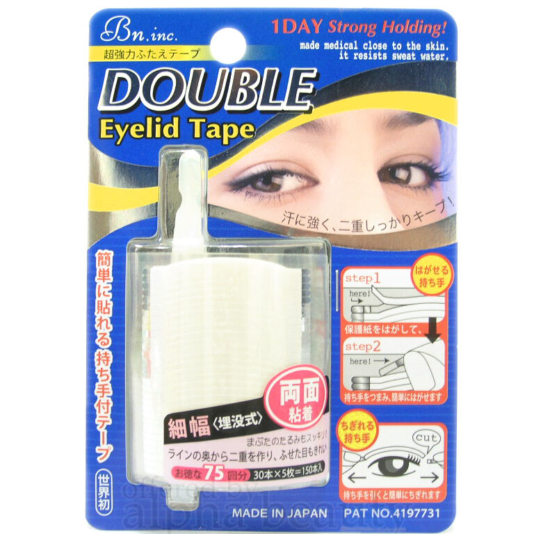Bn Japan 1day Double Eyelid Adhesive Tape Double Side