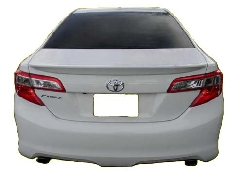 2012 2014 toyota camry painted factory style rear lip spoiler flushmount new ebay. Black Bedroom Furniture Sets. Home Design Ideas