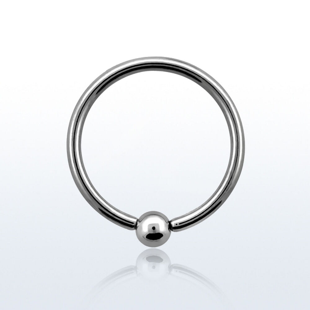 Ball closure ring lippenpiercing ohrring brustpiercing - Lippenpiercing ring ...