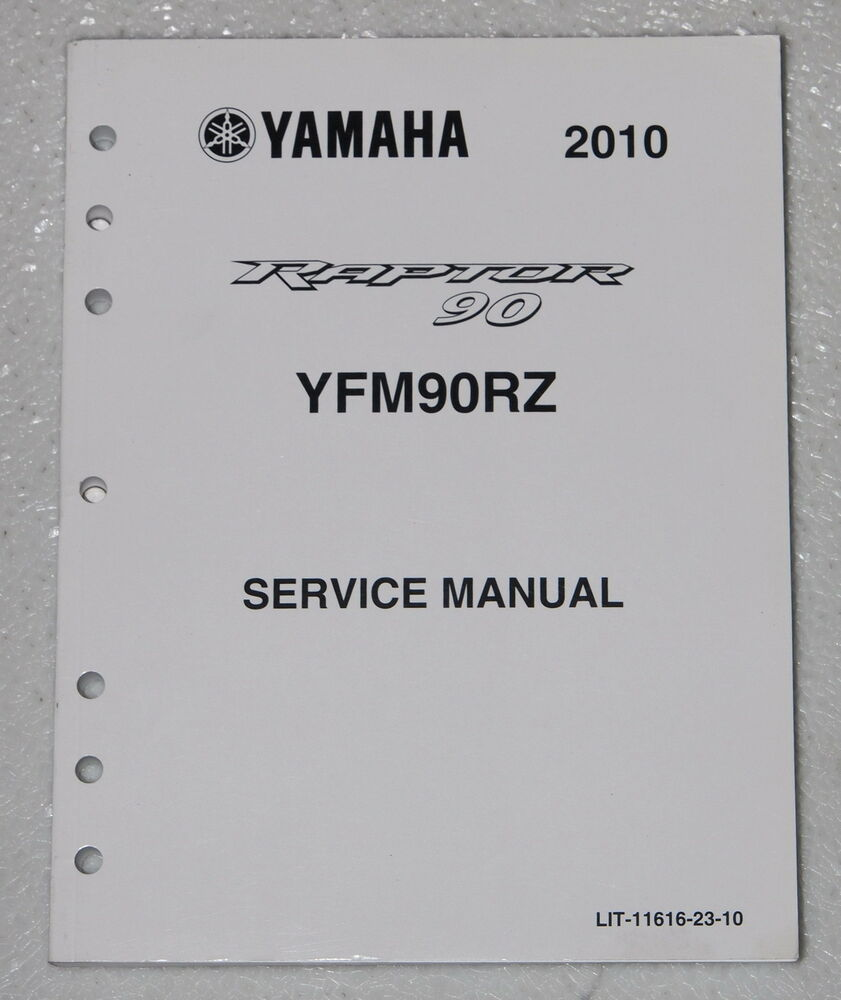 2010 yamaha raptor 90 atv service manual yfm90rz factory. Black Bedroom Furniture Sets. Home Design Ideas