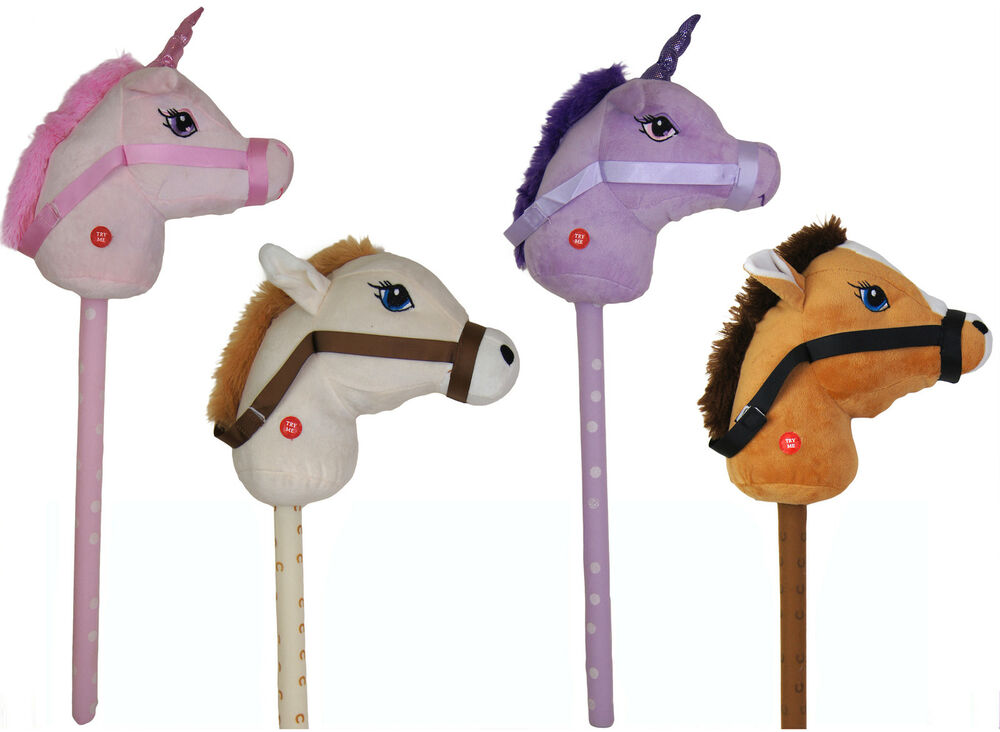 Unicorn Toys For Kids : New kids hobby horse or unicorn with galloping neighing
