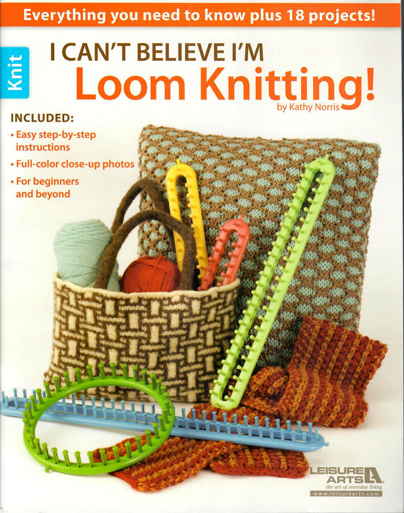 Knitting Loom Instructions : I m loom knitting knifty knitter round long patterns ebay