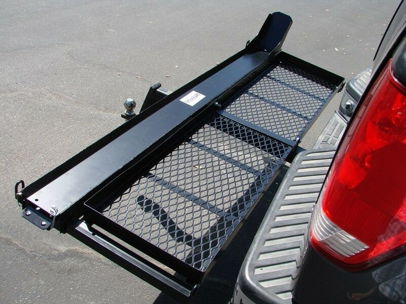 1000 Lb Motorcycle Dirt Bike Hitch Carrier Hauler W