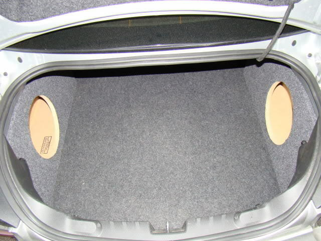2010 Amp 2011 Camaro Corner Sub Box Subwoofer Enclosures 2
