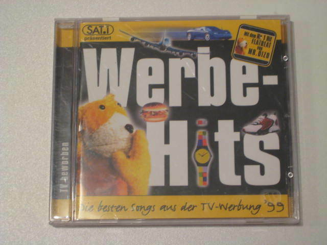 cd werbe hits die besten songs aus der tv werbung 99 sat 1 9548 37234 2 ebay. Black Bedroom Furniture Sets. Home Design Ideas