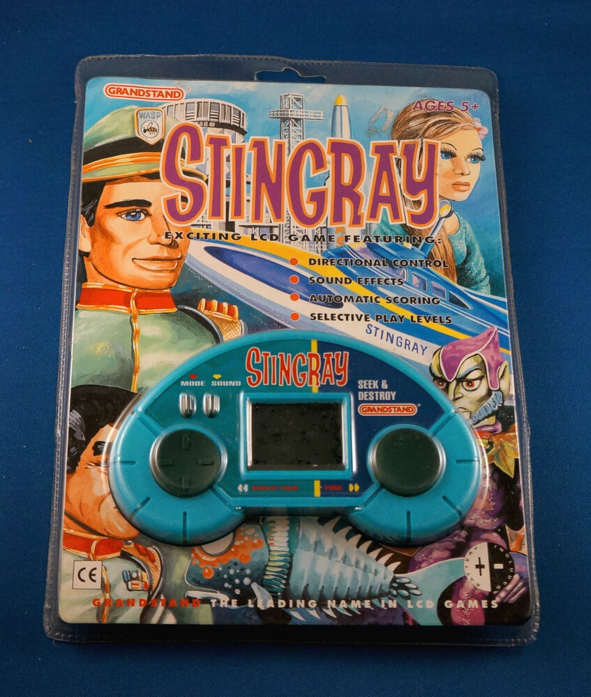 Vintage Toys And Games : Grandstand stingray electronic handheld vintage lcd video