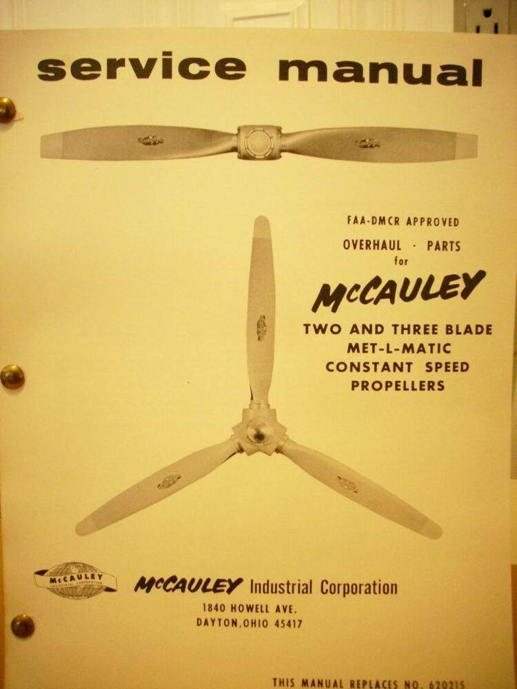 Mccauley 2 And 3 Blade Met