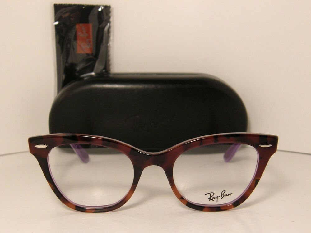 new hot authentic cat eye ray ban eyeglasses rx5226 5031. Black Bedroom Furniture Sets. Home Design Ideas