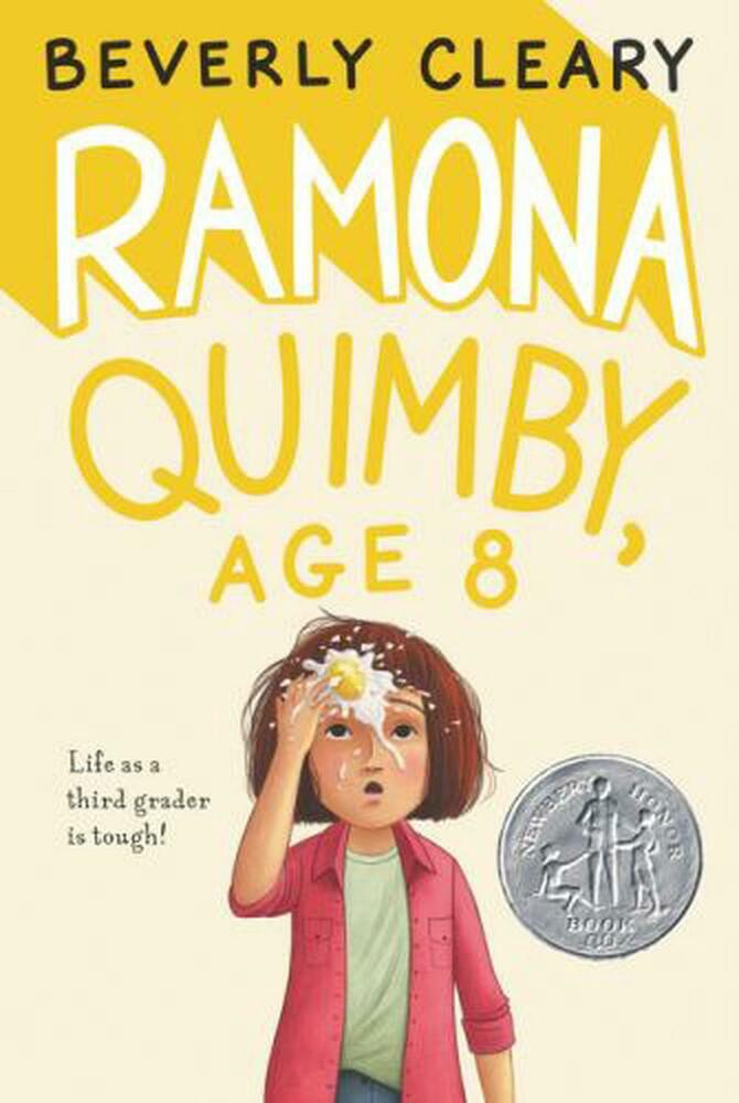 Ramona Quimby, Age 8 by Beverly Cleary Paperback Book ...